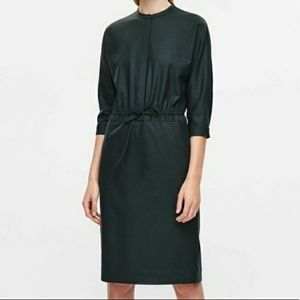 Beautiful forest green COS dress